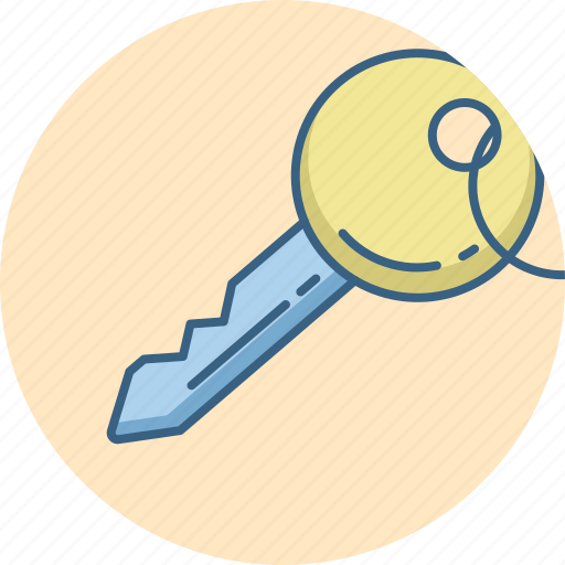 access, key, lock, password, privacy, protection, security icon