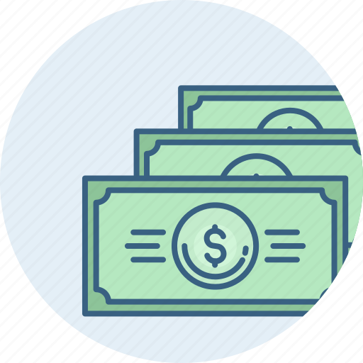 bank, business, currency, financial, money, notes, payment icon
