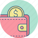 bank, banking, credit, finance, money, shopping, wallet icon