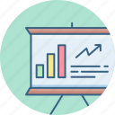 analysis, analytics, business, increase, report, sales, statistics icon