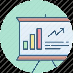 analysis, analytics, business, increase, report, sales, statistics icon
