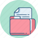 document, file, folder, note, page, paper, sheet icon