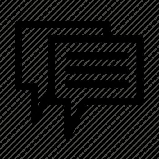 chat, discuss, forum, talk icon