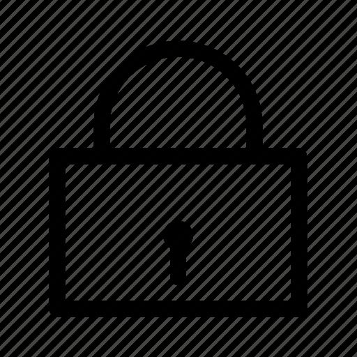 close, lock, secure icon