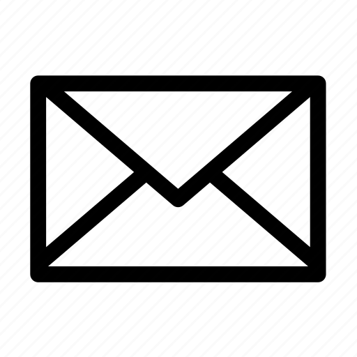 email, mail, message, new mail icon