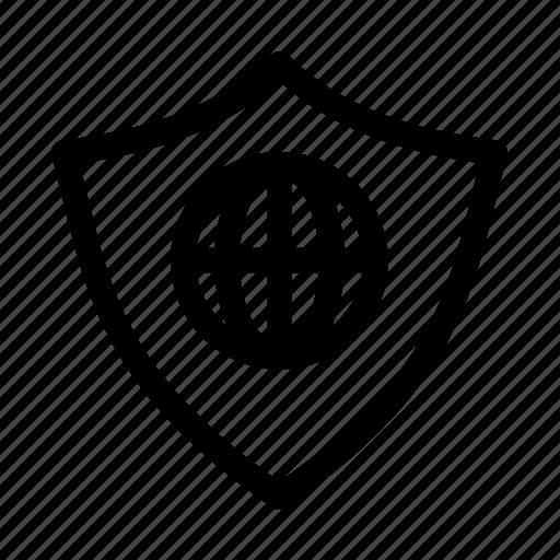 antivirus, internet, security, web icon