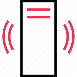 computer, connection, signal, tower icon