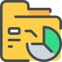 business, data, database, folder, graph, report