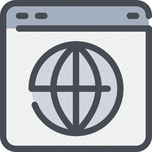 browser, business, global, interface, network, seo icon