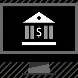 banking, money, online, web icon