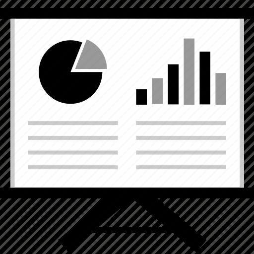 board, business, data, web icon