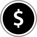 dollar, pay, payment, sign icon