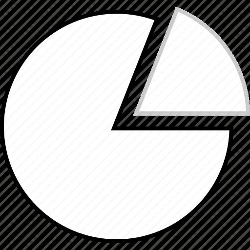 analytics, data, finance, web icon