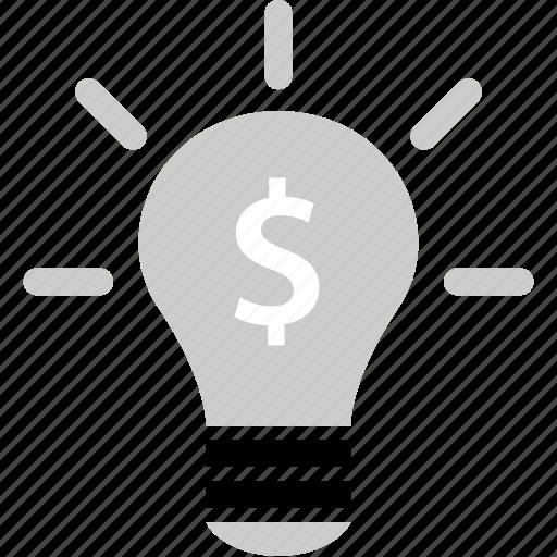 brilliant, bulb, idea, ligh icon