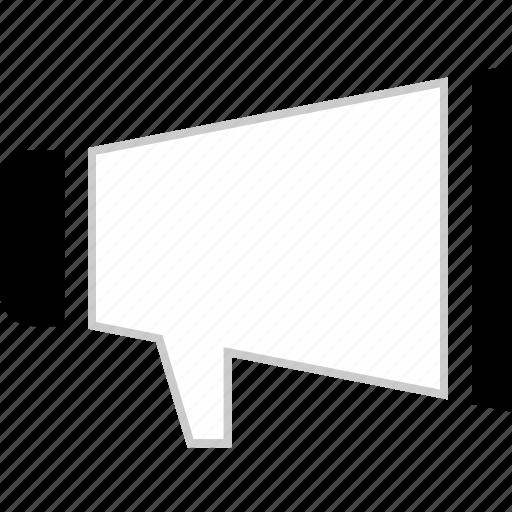 ad, advertisement, loud, speaker icon