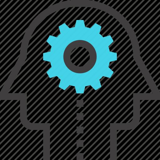 head, human, mind, team, teamwork, thinking, work icon