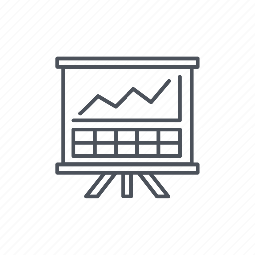analysis, bar graph, data, presentation, statistics, stats icon