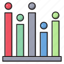 barchart, chart, finance, graph, statistics icon