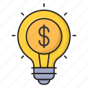 bulb, creative, idea, innovation, solution
