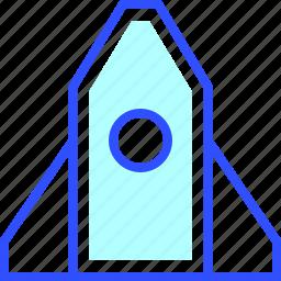business, company, digital, finance, rocket, startup icon