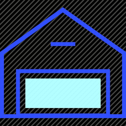 business, company, digital, finance, startup, warehouse icon