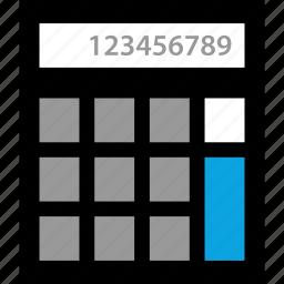 calculator, finance, money, numbers icon