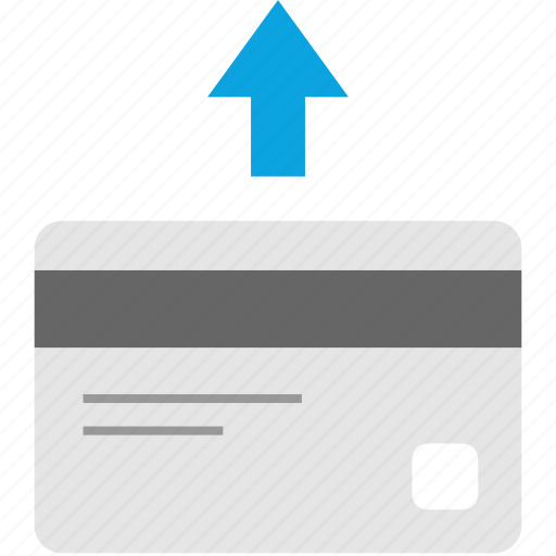 card, credit, refund icon