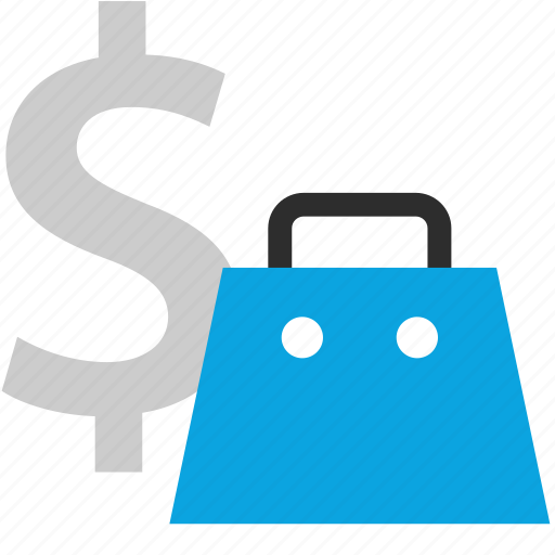 bag, expense, money, payment icon