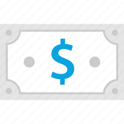 bill, dollar, money, pay icon