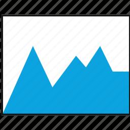 analytics, chart, graphic, web icon
