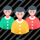 change, hr, human, job, resources, team, update icon