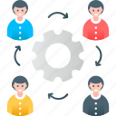business, management, plan, project, stakeholder, task, team icon