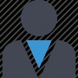 boss, business, online, profile, web icon
