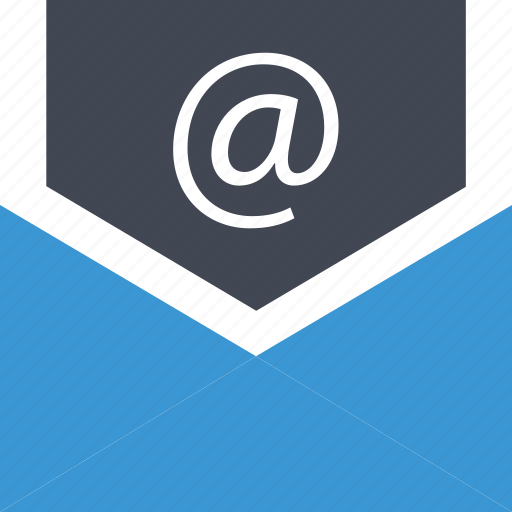 at, business, email, mail, sign icon