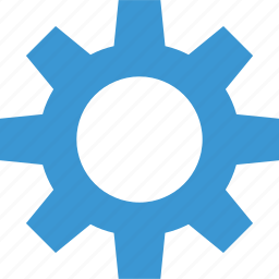 business, gear, graph, report icon