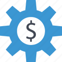 business, dollar, options, report, sign icon