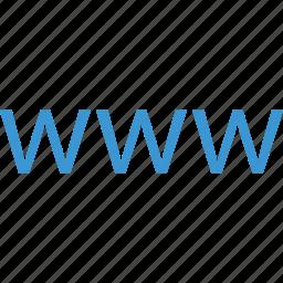 business, visit, websit, www icon