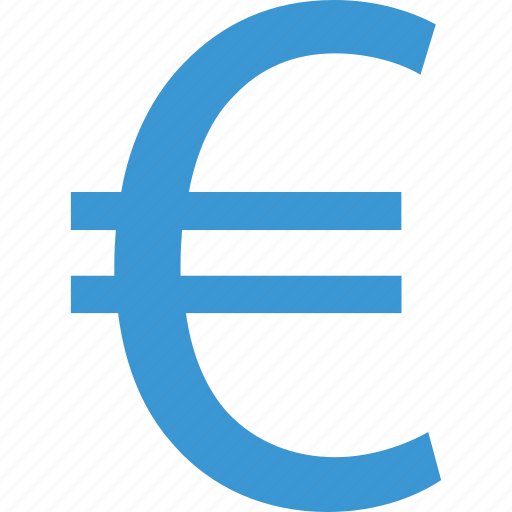 euro, money, sign, wealth icon