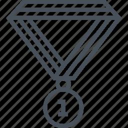 achievement, celebration, champion, commerce, creative, meal, win icon