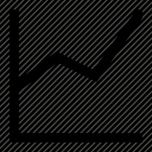 analytics, chart, diagram, efficiency, finance, statistics icon