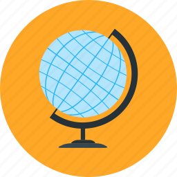 experiment, geography, globe, journey, research, science icon