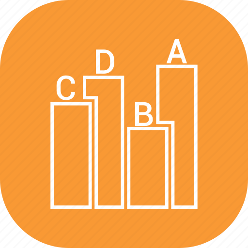bar, business, graph, report icon