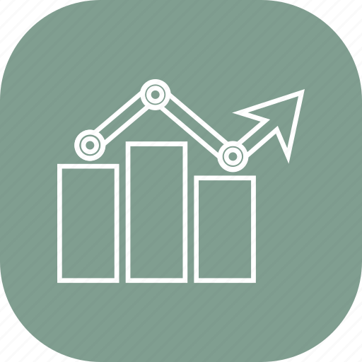 bar, business, graph, growth, report icon