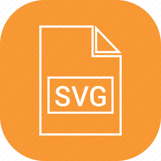 filetypes, svg, vector icon