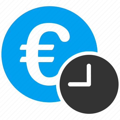 banking, credit, currency, euro, finance, money, recurrent payment icon