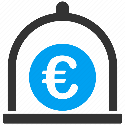 balance, banking, deposit, euro, finance, savings, standard icon