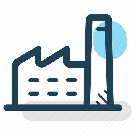 business, company, factory, industry, manufactory, production icon