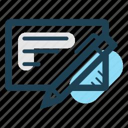 agreement, arrangement, document, register, registration, sign, write icon