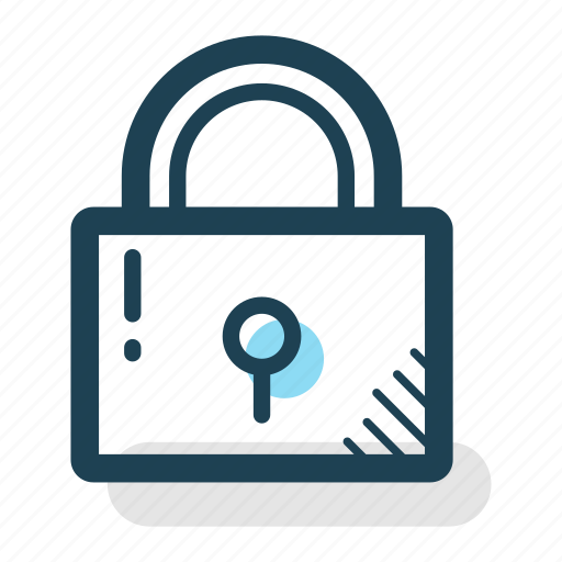 business, lock, padlock, password, privacy, security icon
