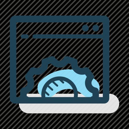 application, business, gear, interface, marketing, settings, setup icon